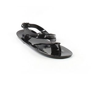 Michael Kors black flat sandals
